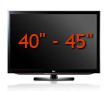 View the best 40&quot; to 45&quot; TV&#039;s